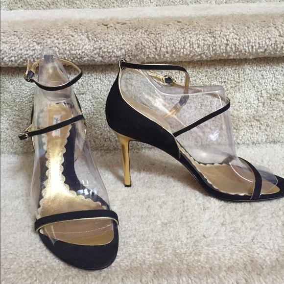 25d99f342811f Garolini garland black heel NWT